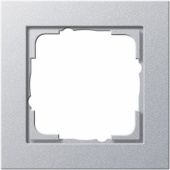 Gira E2 Алюминий Рамка 1-ая