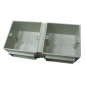 Legrand Коробка монтажная Пластик двойная 2х3М