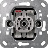 Механизм выключателя 1-клавишного, с 2-х мест