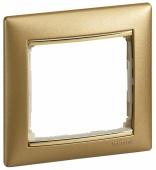 Legrand Valena Рамка 1п матовое золото