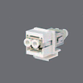LC flangeless connector PB sleeve, 19,2mm