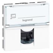 Legrand Mosaic Розетка комп. RJ 45 UTP 8 контактов 2М